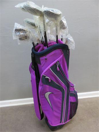 WARRIOR GOLF Ladies Tour 3.1 Golf Clubs & Nike Bag