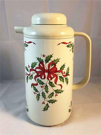 Lenox Holiday Coffee Carafe