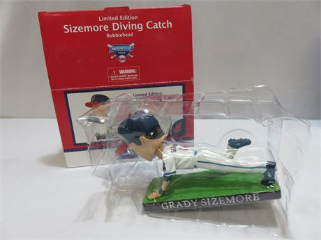 """Cleveland Indians GRADY SIZEMORE """"Diving Catch"""" Bobblehead"""