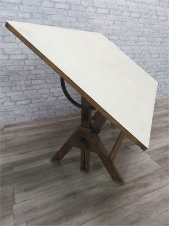 Vintage Medium-Size Hamilton Drafting Table