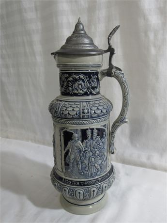 VERY LARGE STONEWARE/POTTERY STEIN