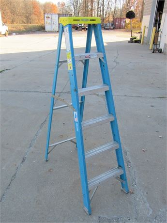 Werner Electro-Master 6' Fiberglass Step Ladder