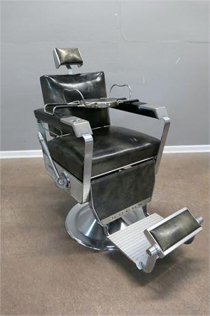 Vintage 1965 Hydraulic Barber Chair by Kochs