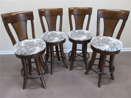 Walnut Bar Stools