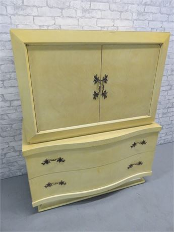 Vintage Mid-Century Serpentine Chest
