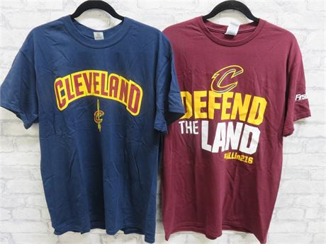CLEVELAND CAVALIERS T-Shirts - Size L