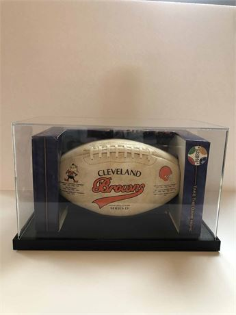 Limited Edition Cleveland Browns Football