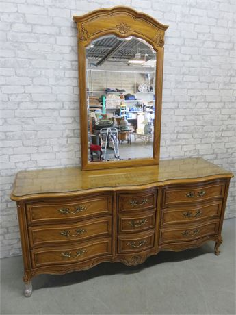 THOMASVILLE French Provincial Triple Dresser