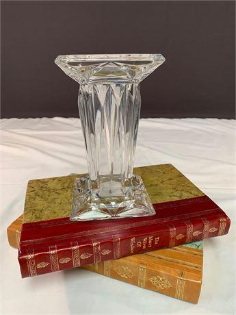 Crystal Pillar Candlestick