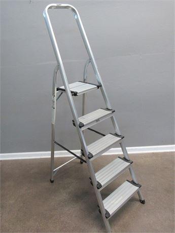 Polder Aluminum Step Ladder