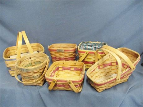 ANOTHER LOT OF LONGABERGER BASKETS