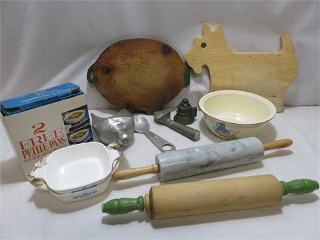 Vintage Kitchenware Lot