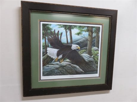 """JOHN A. RUTHVEN """"Victory Flight"""" Limited Edition Lithograph Print"""