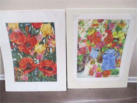 LOT OF 2 PRINTS BY LOCAL ARTIST JAN FORD; SIGNED AND NUMBERED