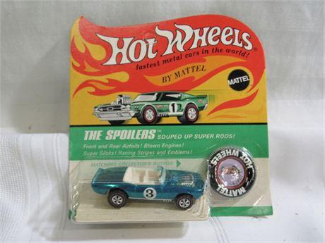 1969 Mattel Hot Wheels RedLine The Spoilers - Light My Firebird - NIP