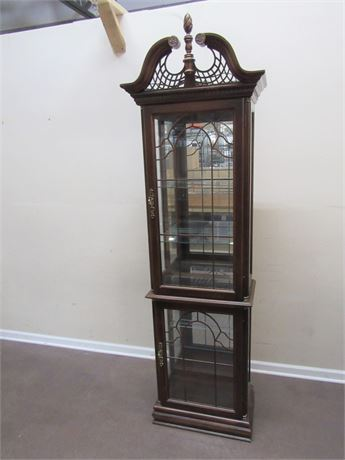BEAUTIFUL CURIO/DISPLAY CABINET