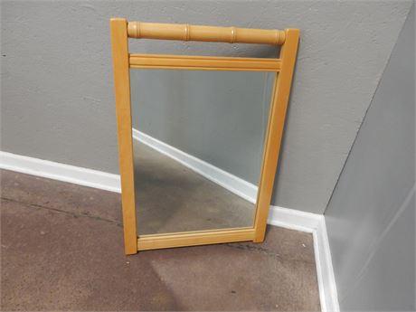 Decorative Oak Mirror