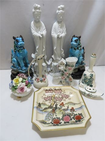 Assorted Porcelain Decoratives