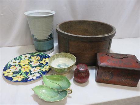 Vintage Pottery & Porcelain Home Decor