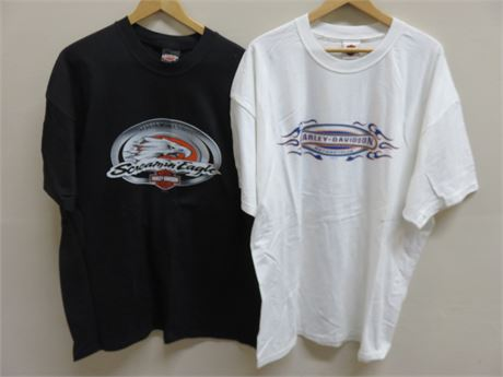 Genuine HARLEY-DAVIDSON Myrtle Beach Dealership T-Shirts - Size XXL