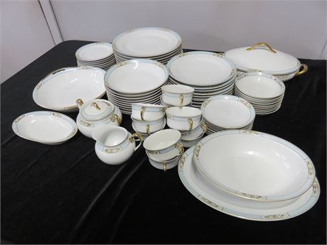 NIPPON 79-Piece China Set - JAPAN