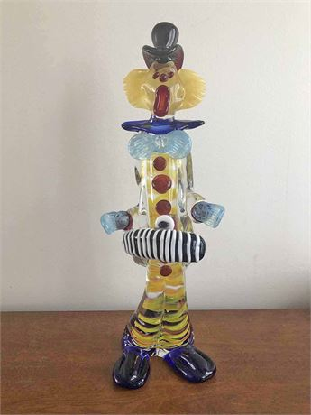 Signed Mario Sandon Murano Art Glass