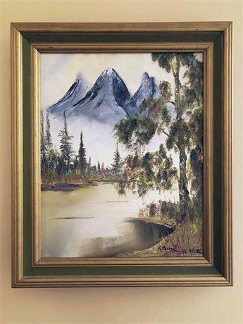 Alfonso Minardi Signed Oil Painting