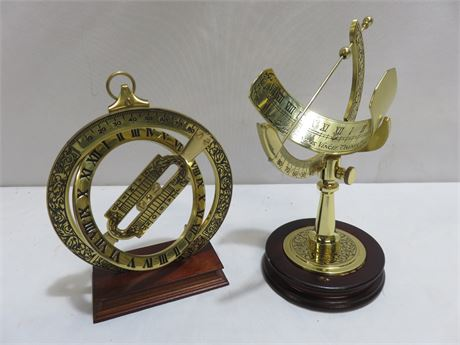 1987 FRANKLIN MINT Great Instruments of Discovery - Sundials