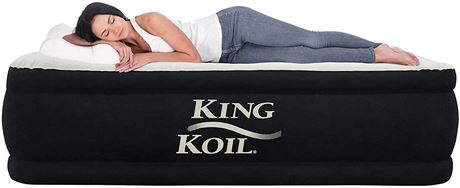 KingKoil Twin Double-High AirBed