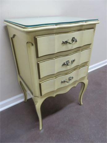 Vintage ECKER-SHANE French Provincial Nightstand