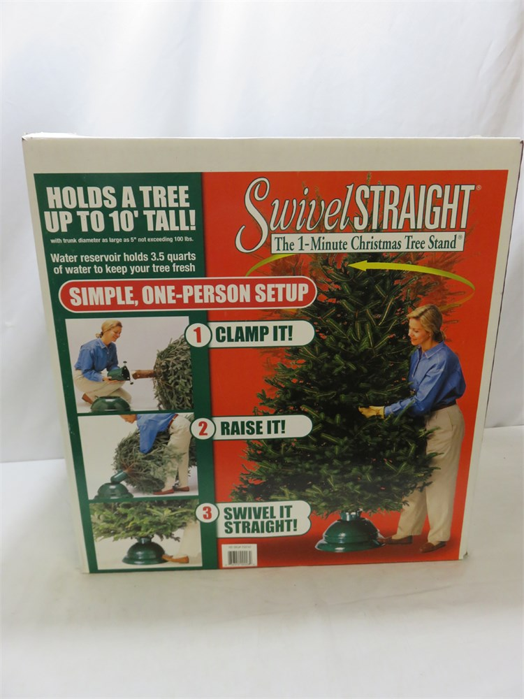 Swival Christmas Tree Stand.Transitional Design Online Auctions Swivel Straight