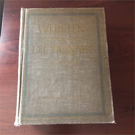 1966 Webster's Dictionary