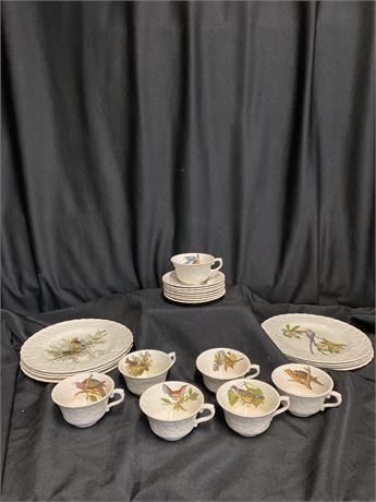 Alfred Meaken Dinnerware from England