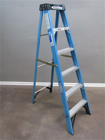 6' Werner Fiberglass Step Ladder