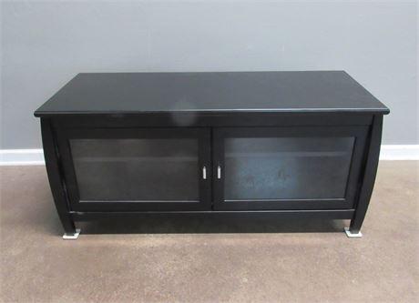 Black TV/Entertainment Stand