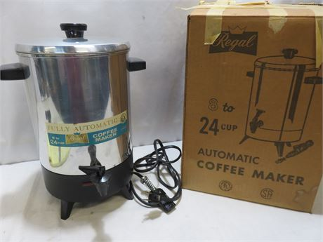 REGAL 24-Cup Electric Automatic Coffee Maker