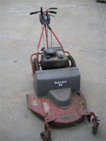 VINTAGE TUFF-CUT HIGH WHEEL MOWER