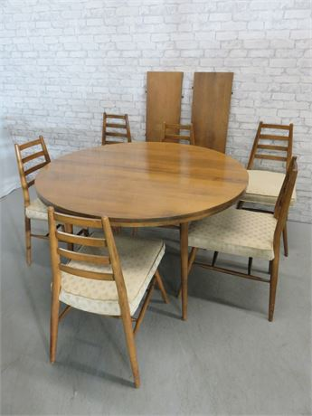 Vintage Mid-Century Paul McCobb Predictor Group Dining Table Set