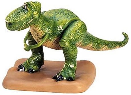 1998 TOY STORY - REX - I'M SO GLAD YOU'RE NOT A DINOSAUR - LIMITED EDITION  4000
