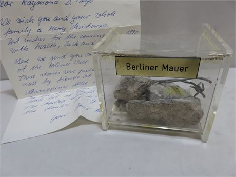 Rare Berlin Wall Artifacts
