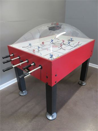 CARROM SPORTS Super Stick Dome Hockey Table