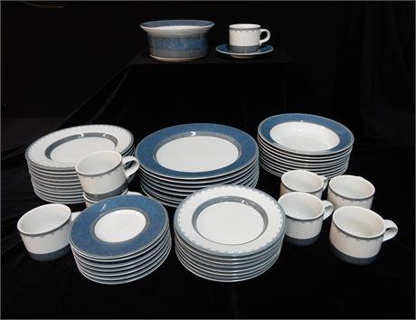 Mid Century DANSK Discontinued Gridworks Dinnerware Set