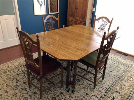 Antique Trorlicht-Duncker Dining Set