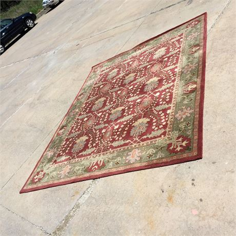 POTTERY BARN WOOL RUG