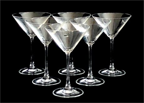 DiVino by Rosenthal Crystal Martini Glass Set