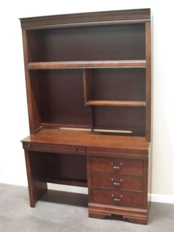 BROYHILL DESK WITH HUTCH