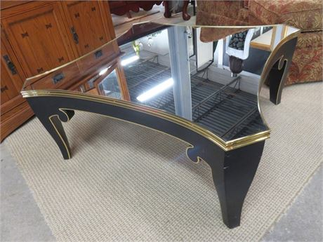 Mirrored Top Coffee Table