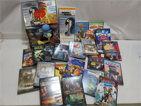 Children's & Family Movie DVD Collection