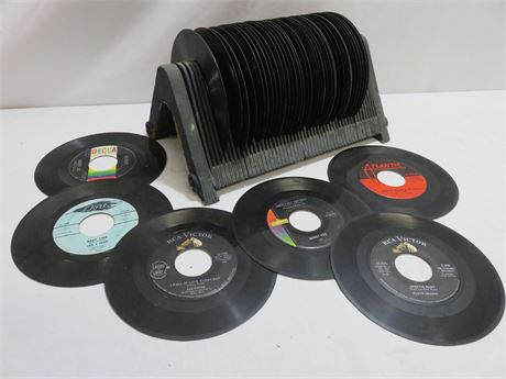 40+ Vintage 1950s 45 RPM Record Lot