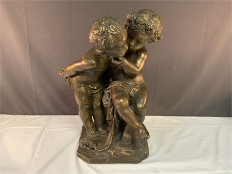 Sculpture of Children